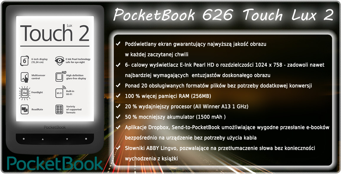 pocketbook touch lux 626
