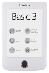 PocketBook Basic 3 Biały