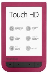 PocketBook 631 Touch HD bordowy
