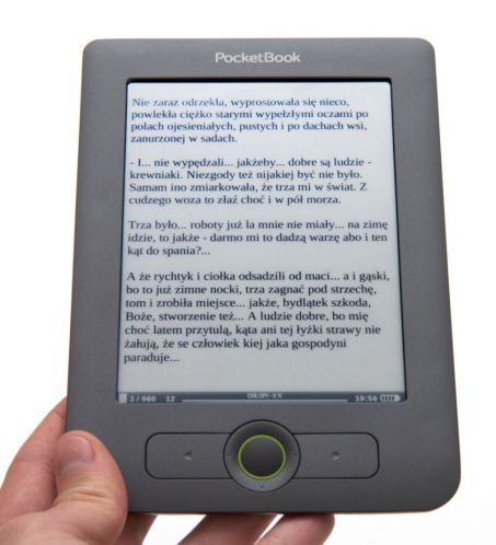Jakość tekstu w czytniku BocketBook